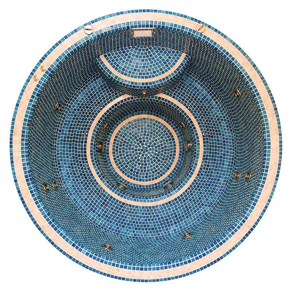 Mosaic 190 Professzionális Masszázsmedence